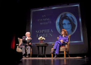 Sophia Loren in Chicago Copernicus Center Darkroom Joe's Photography