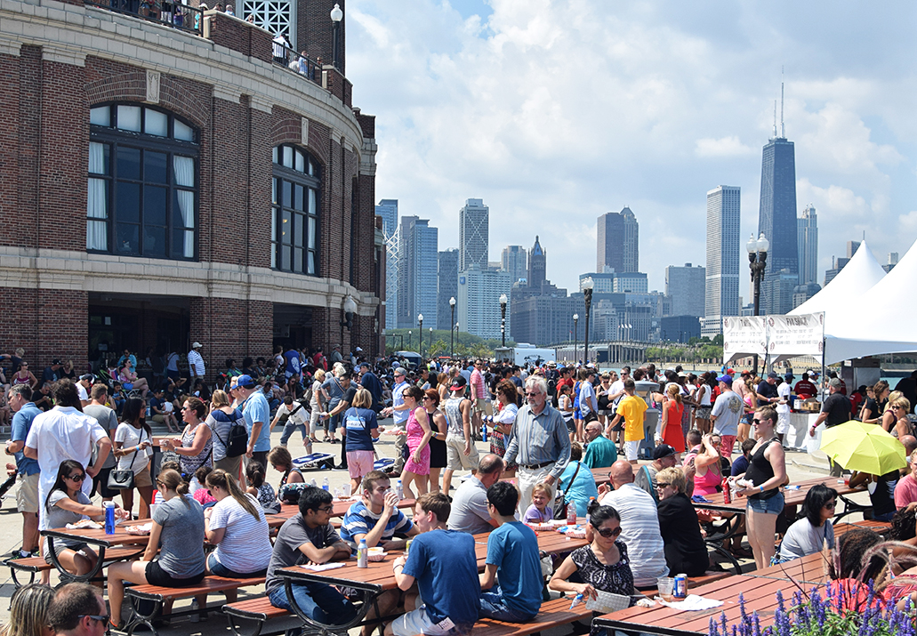 Great American Lobster Fest Navy Pier 45 | Darkroom Joe's Photography in Chicago, IL